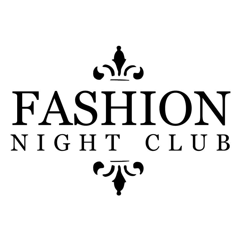 Fashion Night Club vector logo