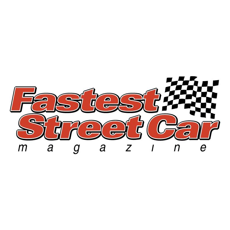 Fastest Street Car vector