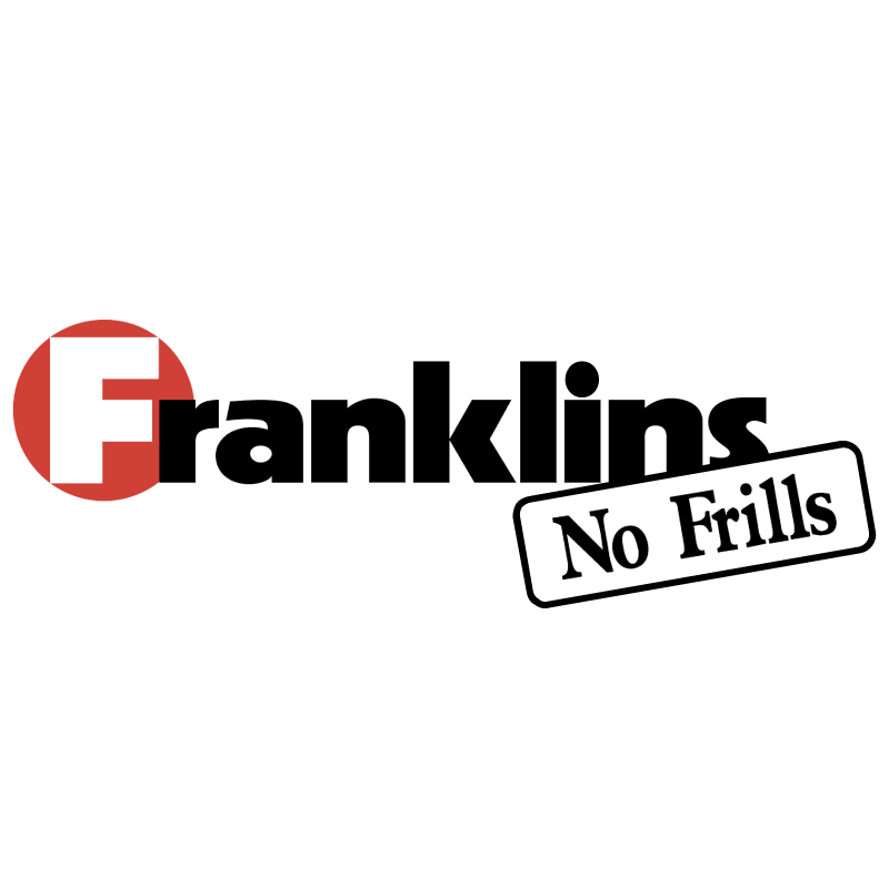Franklins No Frills vector