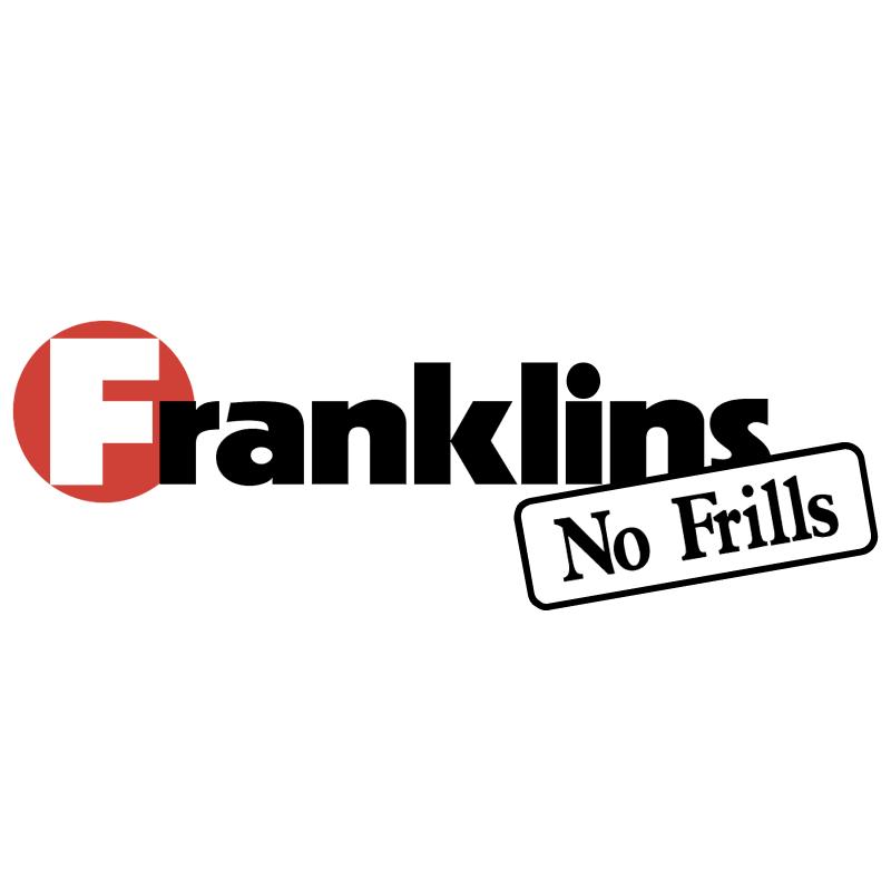 Franklins No Frills vector