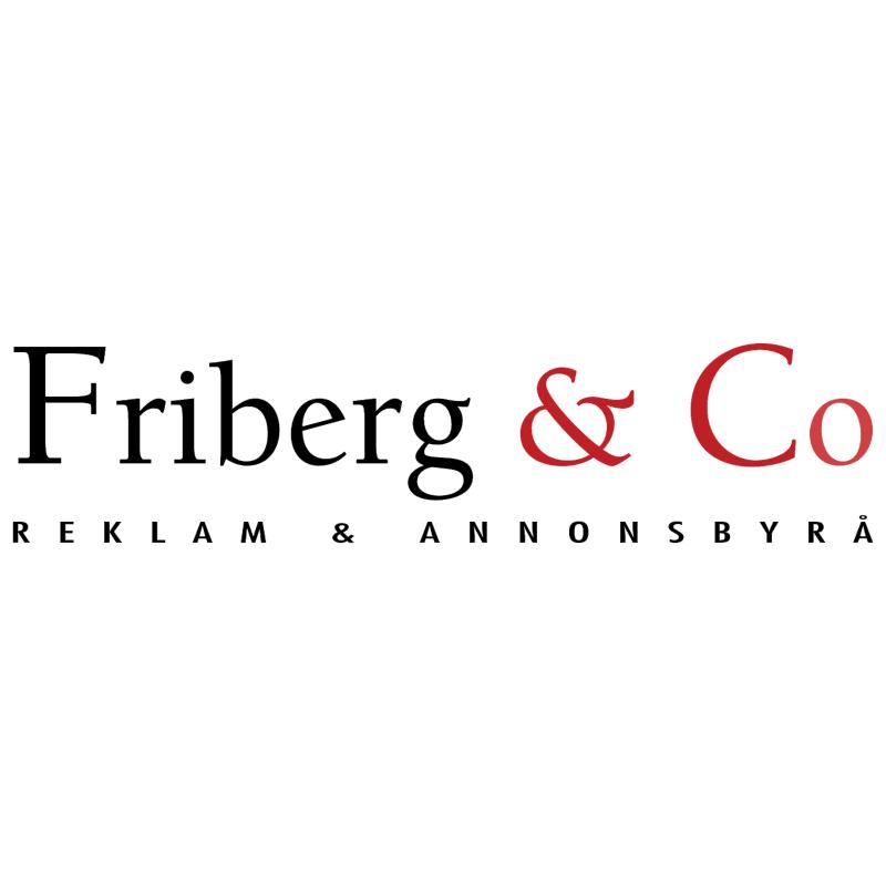 Friberg & Co vector logo