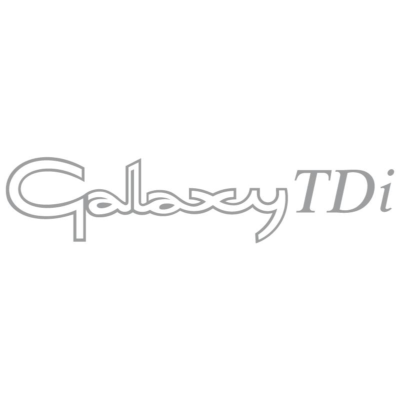 Galaxy TDi vector logo