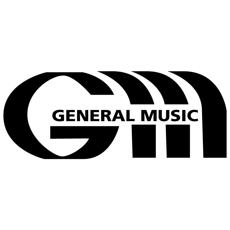 General Music Records vector