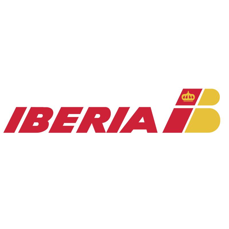 Iberia Airlines vector