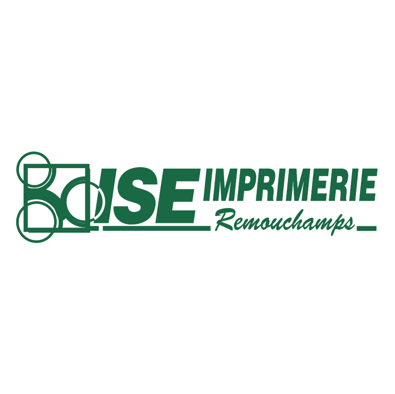 ISE Imprimerie Remouchamps vector