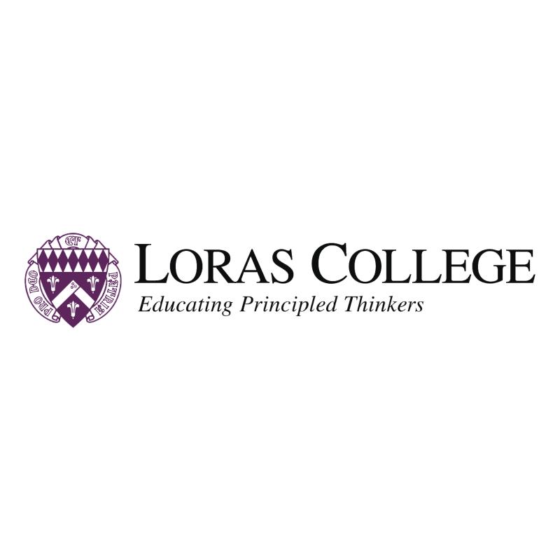 Loras College vector