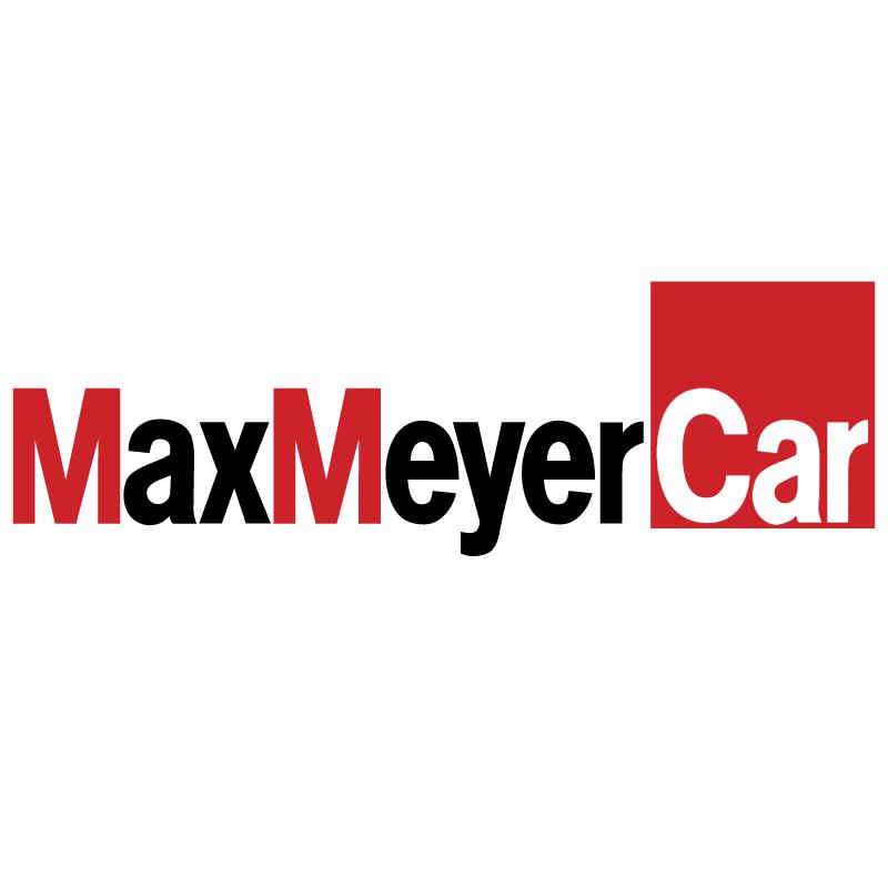 MaxMeyer Car vector