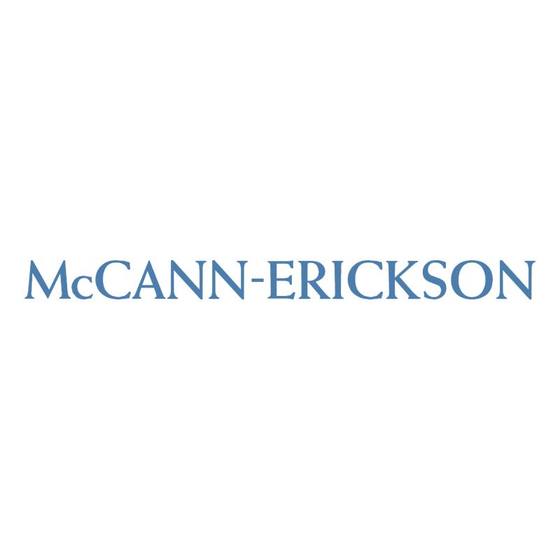 McCann Erickson vector logo