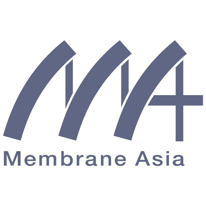 Membrane Asia vector logo