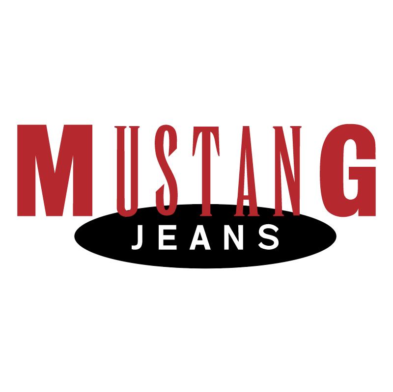 Mustang Jeans vector logo