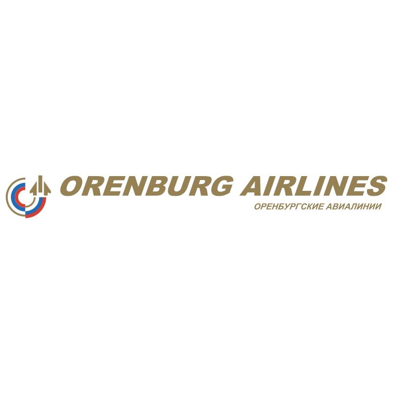 Orenburg Airlines vector