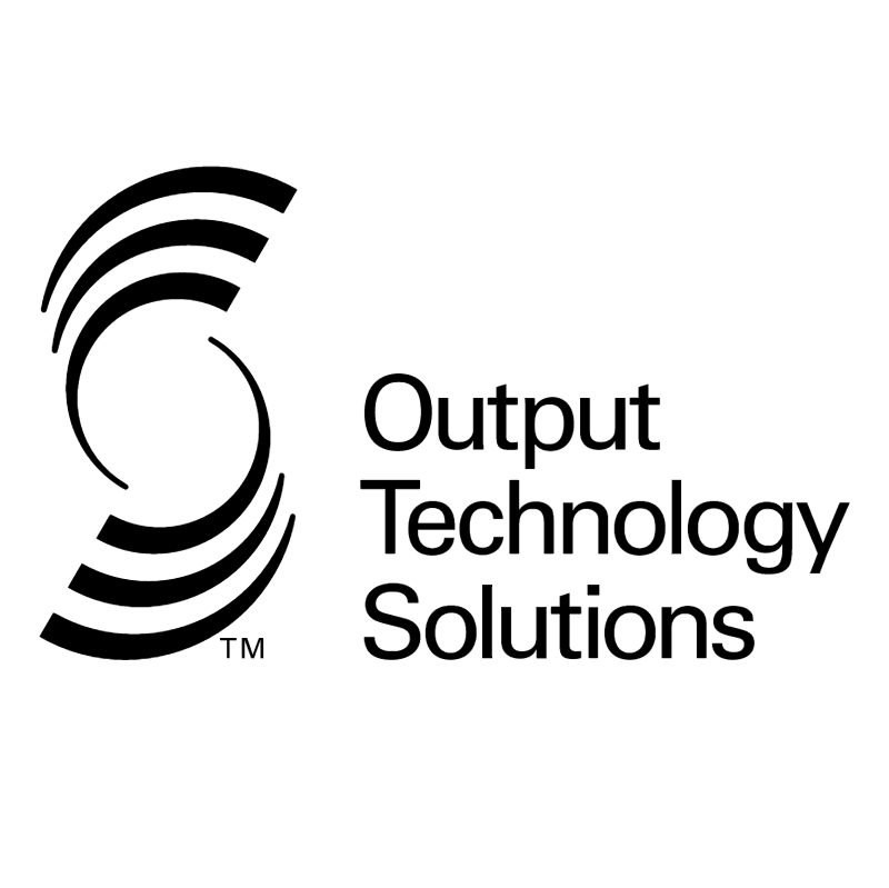 Output Technology Solutions vector logo