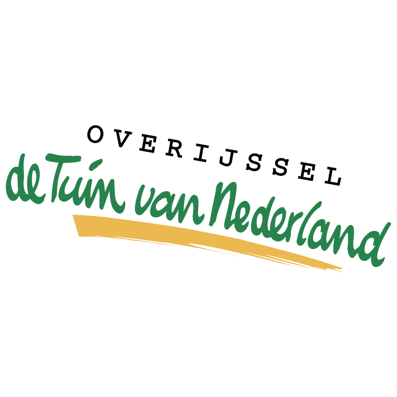 Overijssel de Tuin van Nederland vector