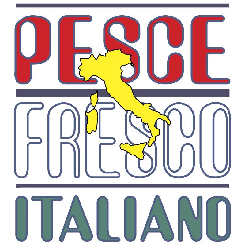Pesce Fresco Italiano vector
