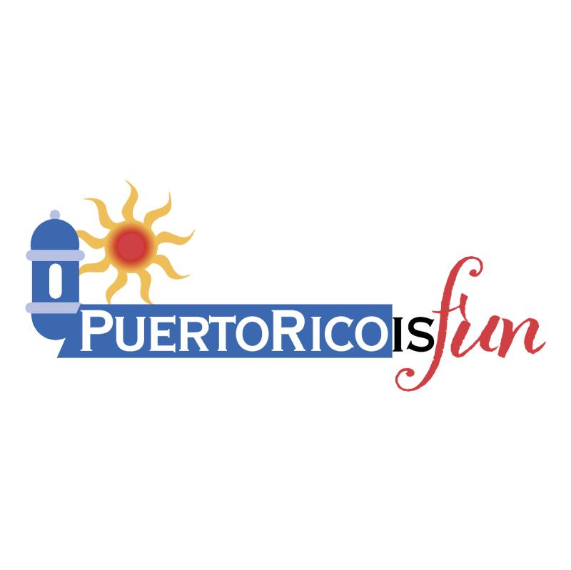 Puerto Rico is fun vector