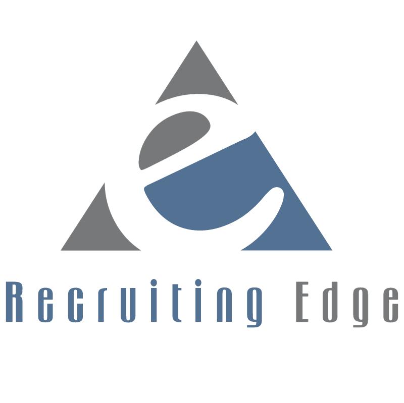 Recruiting Edge vector
