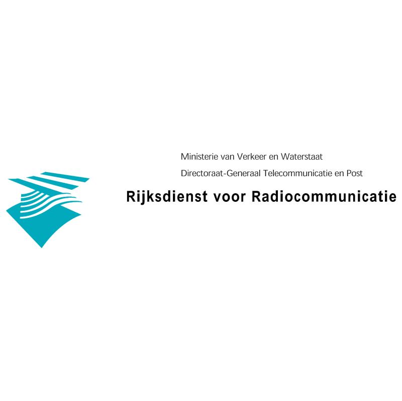 Rijksdienst voor Radiocommunicatie vector logo