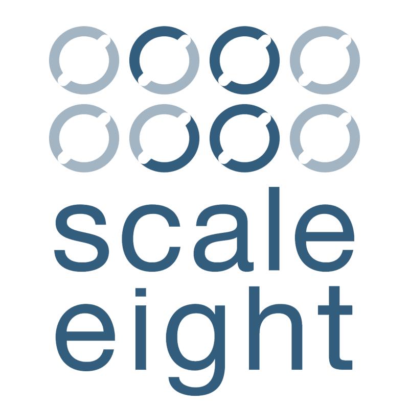 Scale Eight vector logo