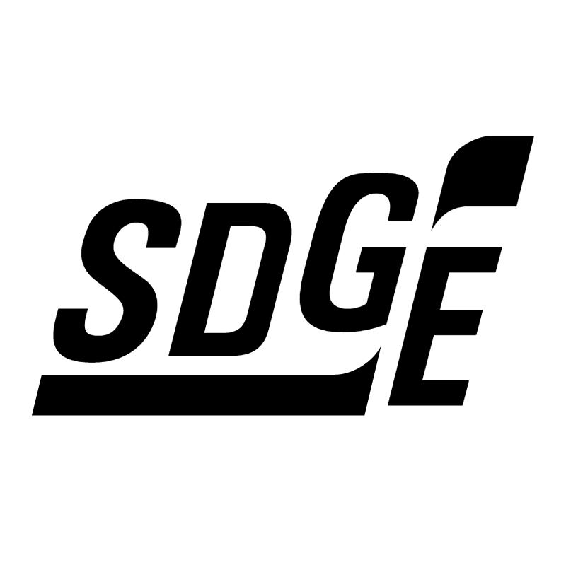 SDGE vector logo