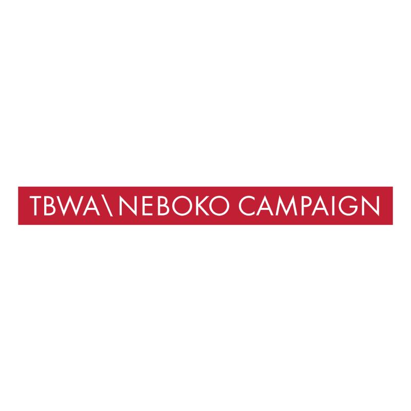 TBWA Neboko Campaign vector