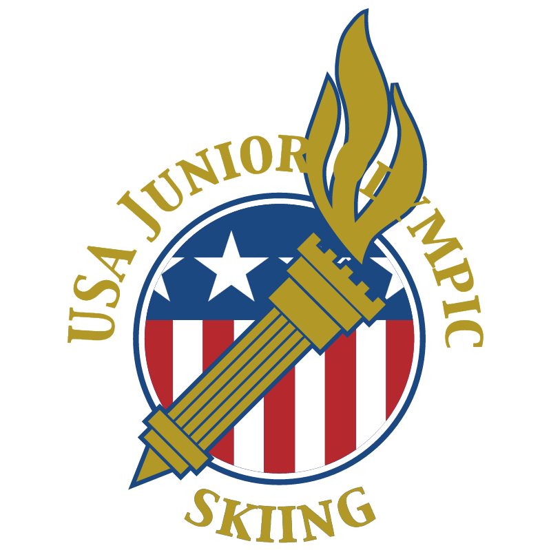 USA Junior Olympic Skiing vector