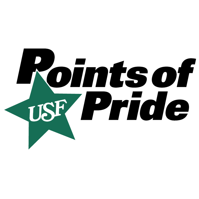 USF Points of Pride vector