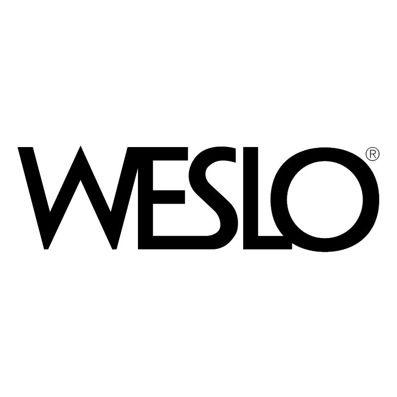 Weslo vector logo