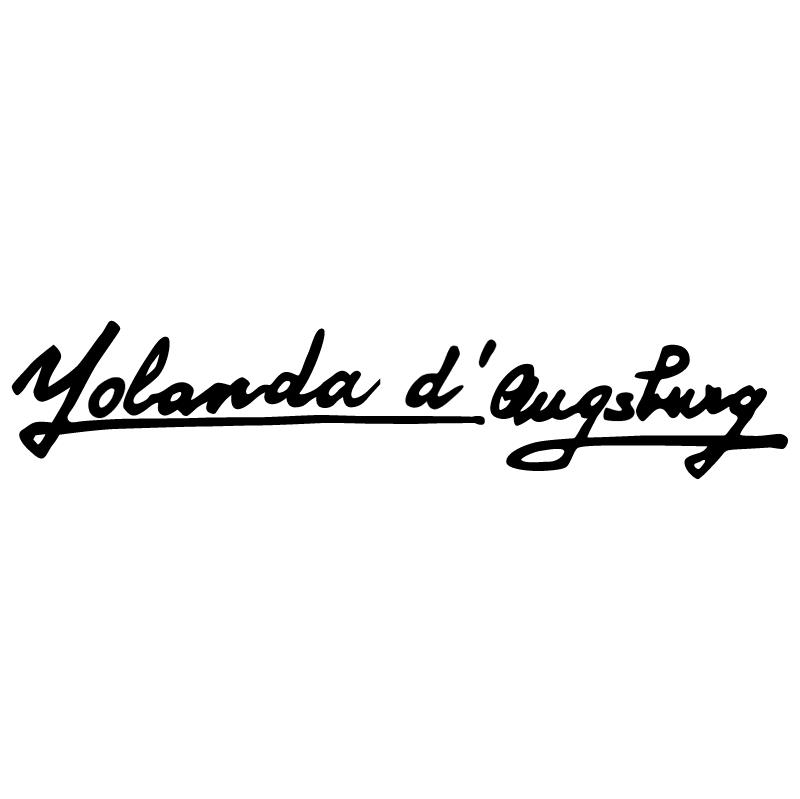 Yolanda d'Augsburg vector logo