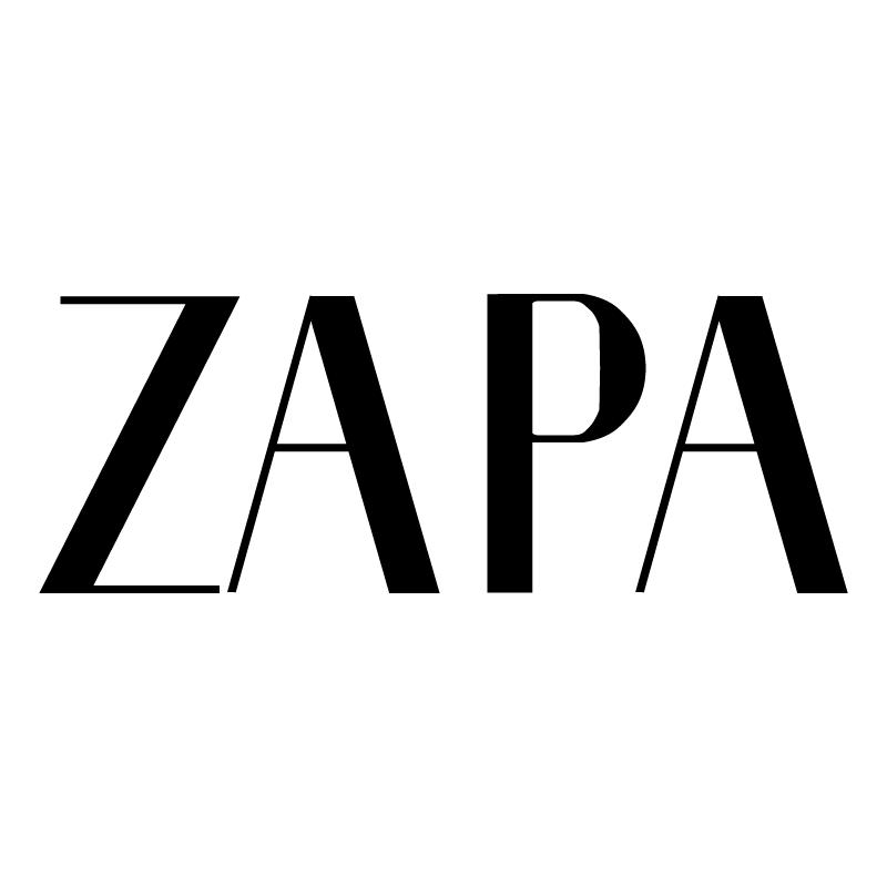 Zapa vector logo
