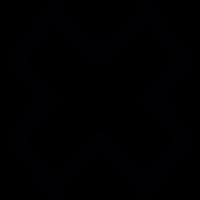Cross mark vector