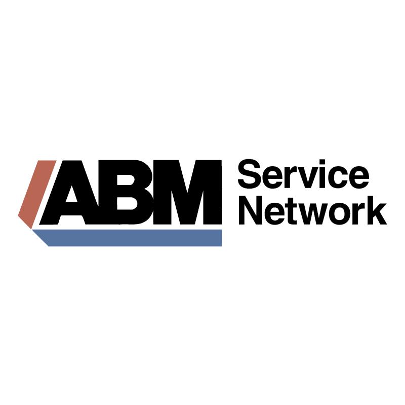 ABM Service Network vector