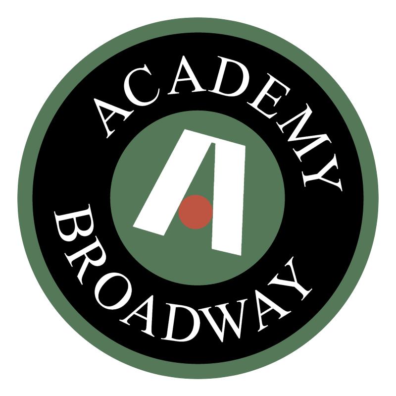 Academy Broadway vector