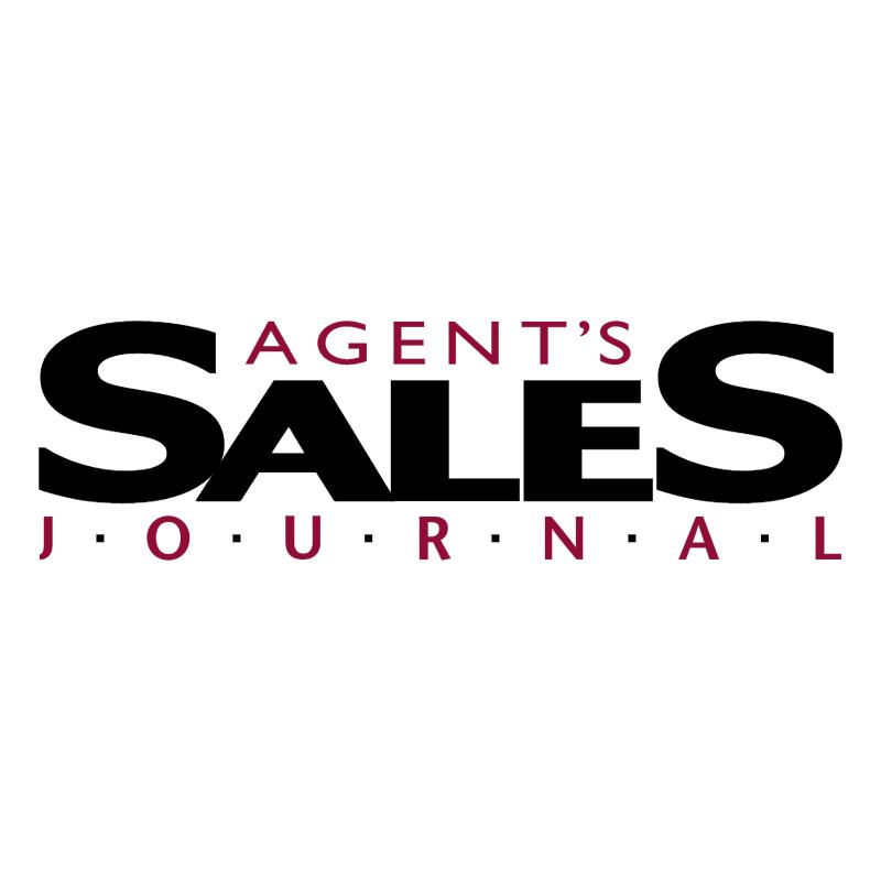 Agent's Sales Journal 81019 vector