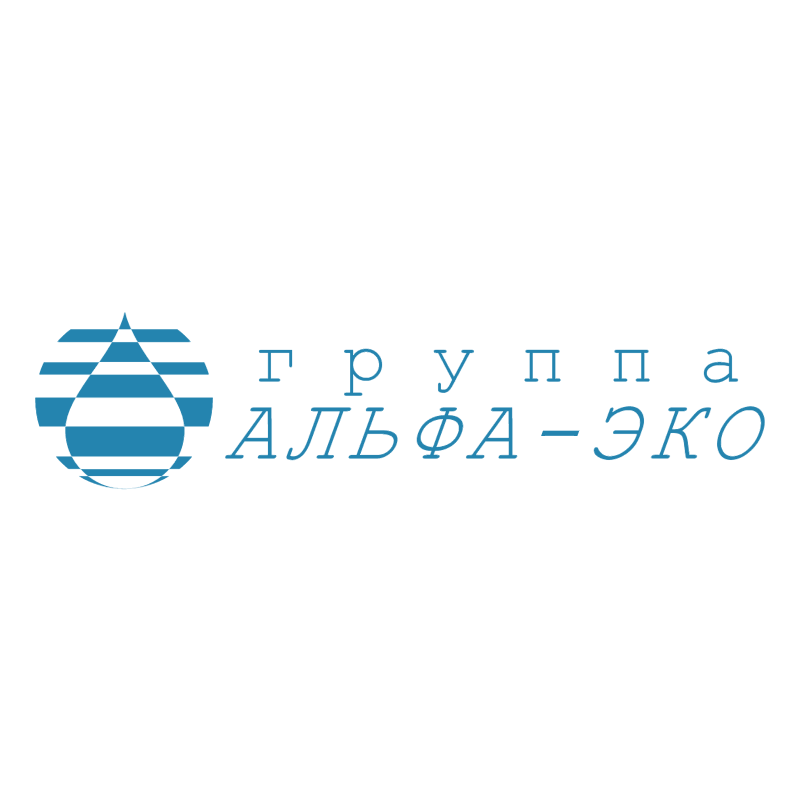 Alpha Eco Group vector logo