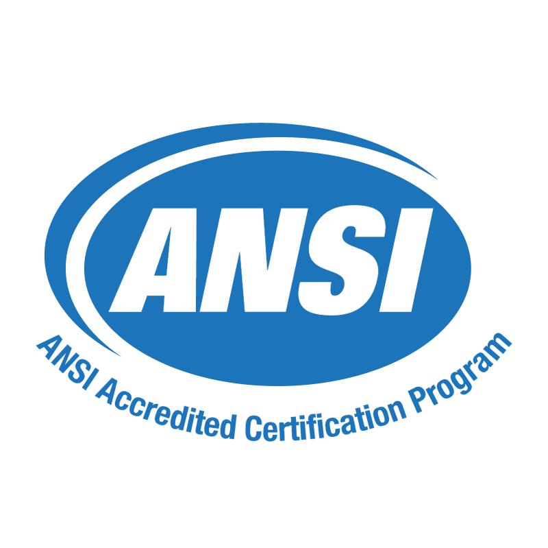 ANSI Accredited Certification Program 61141 vector logo