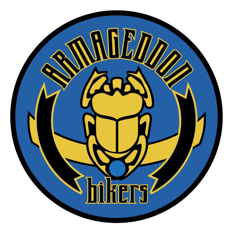 Armageddon bikers 86101 vector