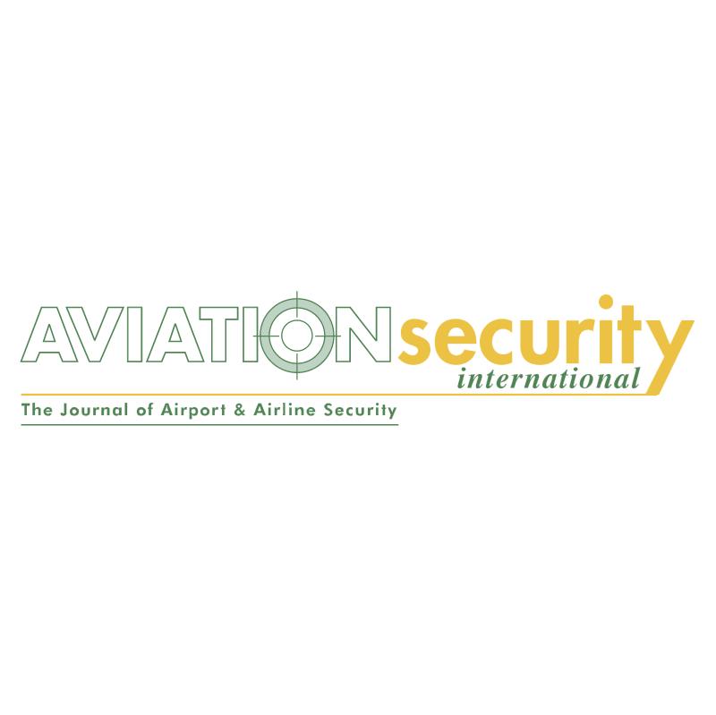 Aviation Security International 38444 vector logo