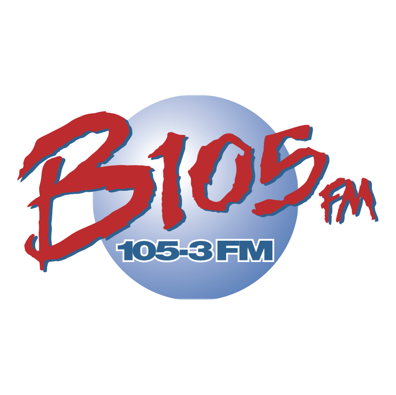 B105 FM vector