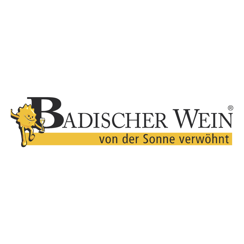 Badischer Wein vector