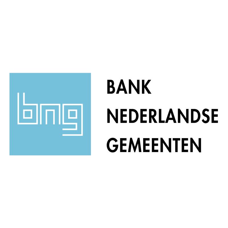 Bank Nederlandse Gemeenten 84182 vector