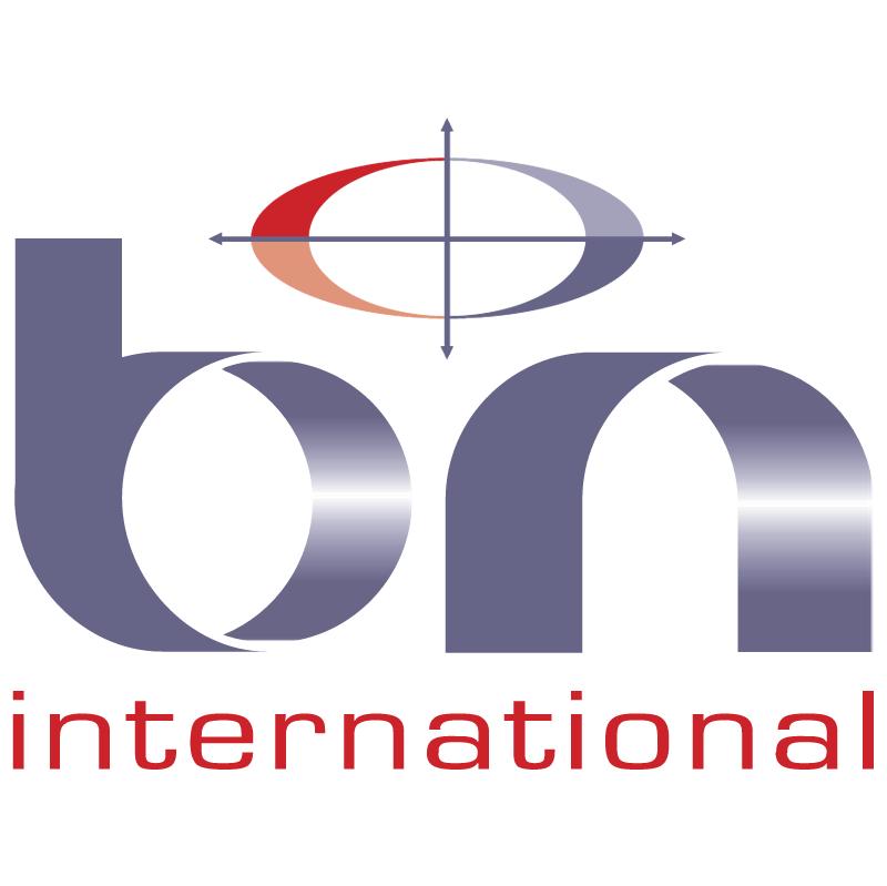 bn international vector logo