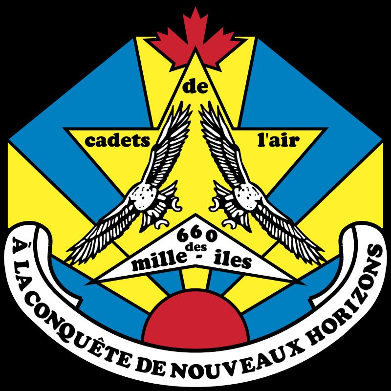 Cadets de l'air logo vector