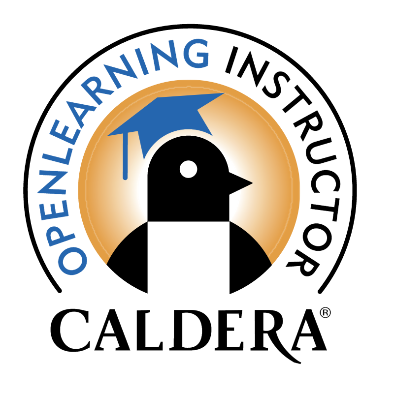 Caldera OpenLearning Instructor vector logo