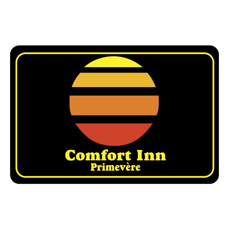 Comfort Inn Primevere vector logo