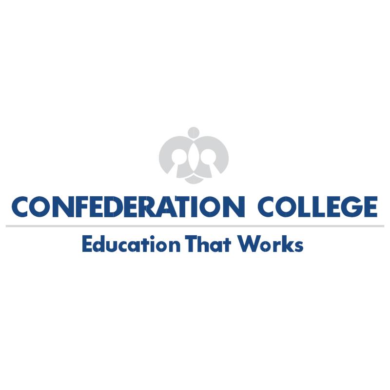Confederation College vector