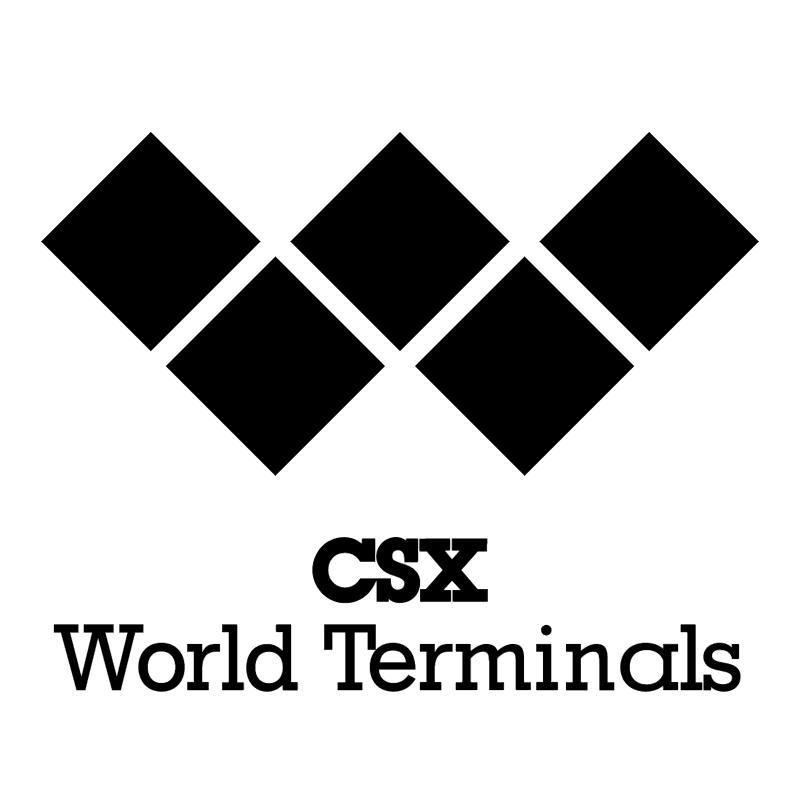 CSX World Terminals vector