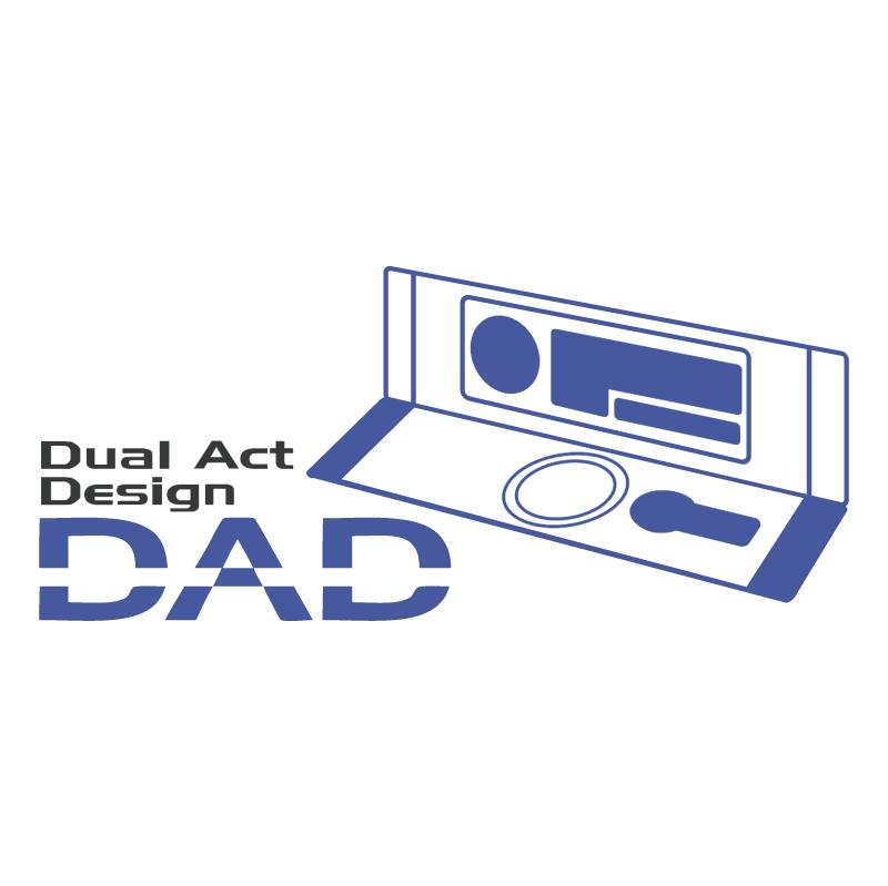 DAD vector logo