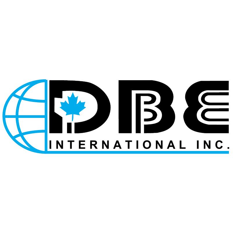 DBE International vector