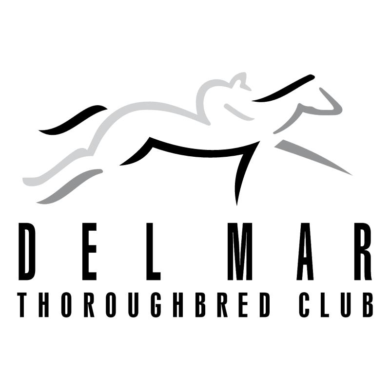 Del Mar Thoroughbred Club vector