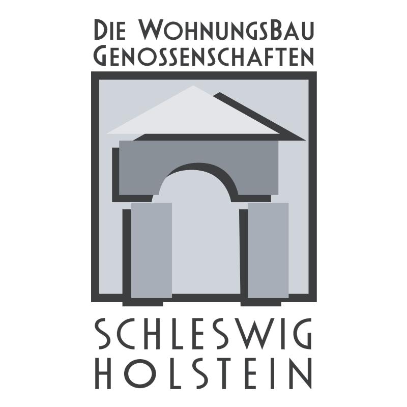 Die Wohnungsbau Genossenschaften Schleswig Holstein vector